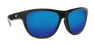 Costa Bayside Sunglasses-Shiny Black/Blue Mirror 580G