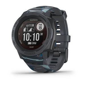 Garmin Instinct Solar Surf Edition Watch-Pipeline