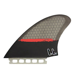 Captain Fin Chris Christenson Futures Twin Fin Set-Black