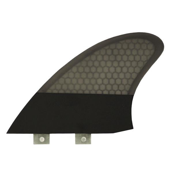 Captain Fin Chris Christenson FCS Twin Fin Set-Black