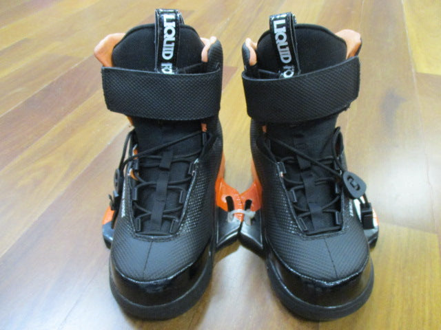 USED 2015 Liquid Force LFK Boot-8-10-Black/Orange