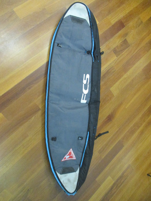 "USED FCS Triple Cover Shortboard Bag 7'1"" w/Day Cover Insert"