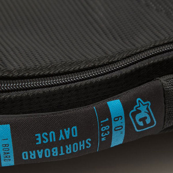 Creatures Shortboard Day Use Bag-Black Edition-6'7""