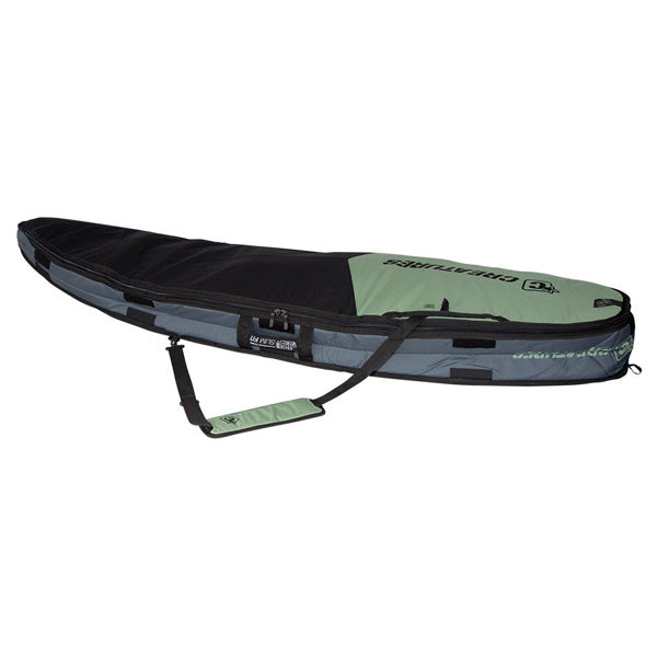 Creatures Shortboard Double Bag-Slate/Black-6'3""