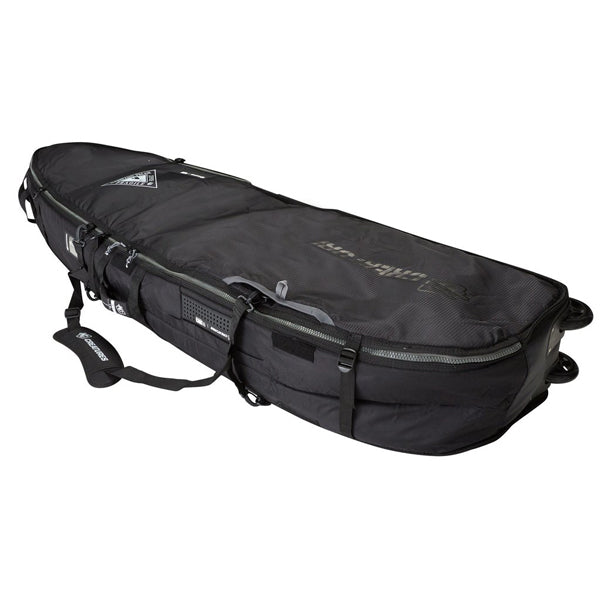 Creatures Shortboard Quad Wheely Bag-Charcoal-6'3""