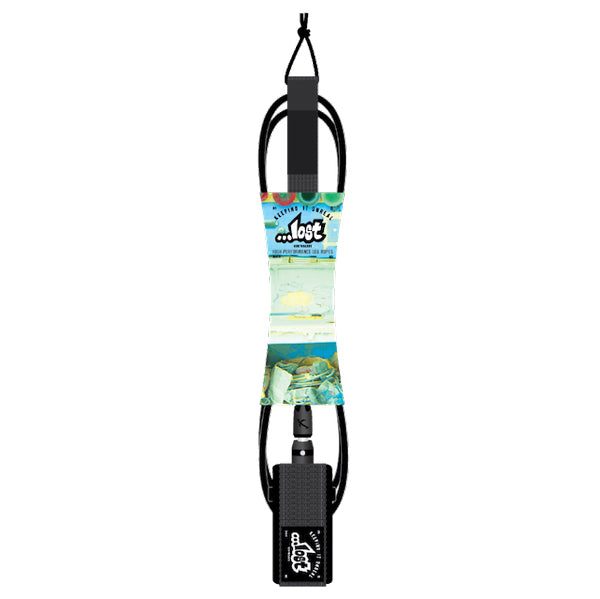 "Lost Double Up Leash-8' x 5/16""-Black"