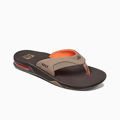 Reef Fanning Sandal-Brown/Orange