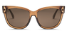 Electric Danger Cat Sunglasses-Gloss Mno Brnz/OHM Brnz Polar