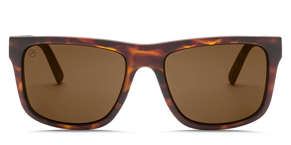 Electric Swingarm XL Sunglasses-Matte Tort/OHM Bronze Polar