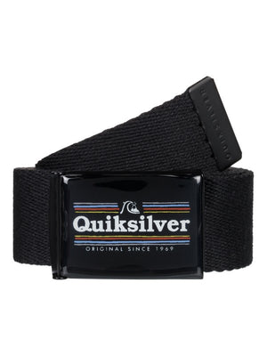 Quiksilver Imabuckle Youth Belt-Black