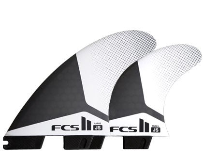 FCS II JS PC Tri/Quad Fin Set-Large