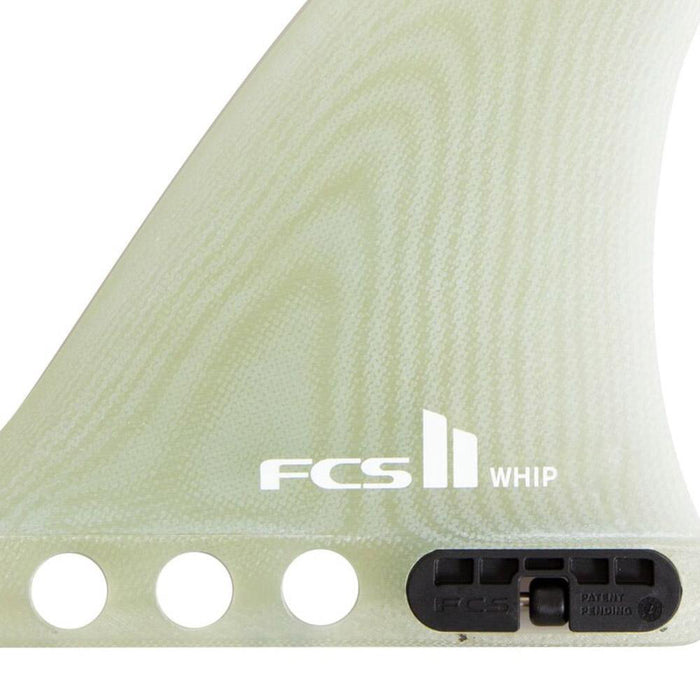 FCS II Whip PG Single Fin-Clear-9""