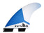 FCS II JS PC Tri Fin Set-Medium