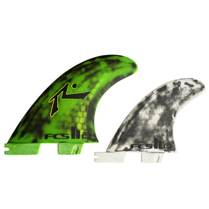 FCS II Rusty PC Tri/Quad Fin Set-Medium