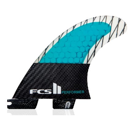 FCS Performer PC Carbon Tri Fin Set-X-Small