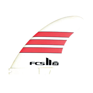 FCS II JW PG Tri Fin Set-Red-Large