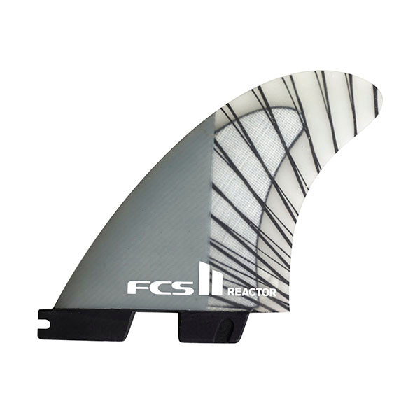 FCS II Reactor PC Carbon Tri Fin Set-Charcoal-Small