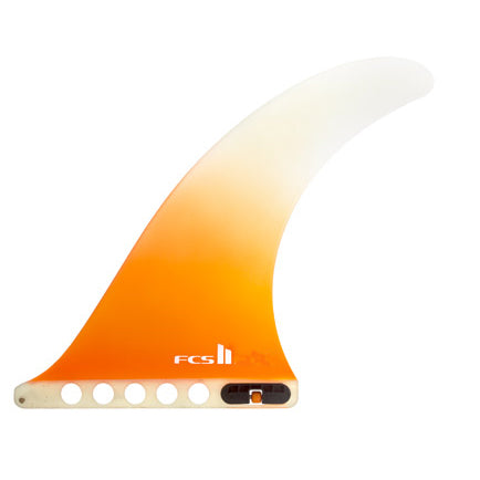 FCS II Flow PG Single Fin-Orange-11""