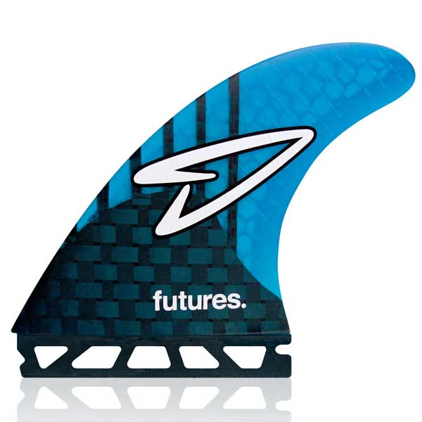 Futures Roberts Generation Tri Fin Set-Blue-Large
