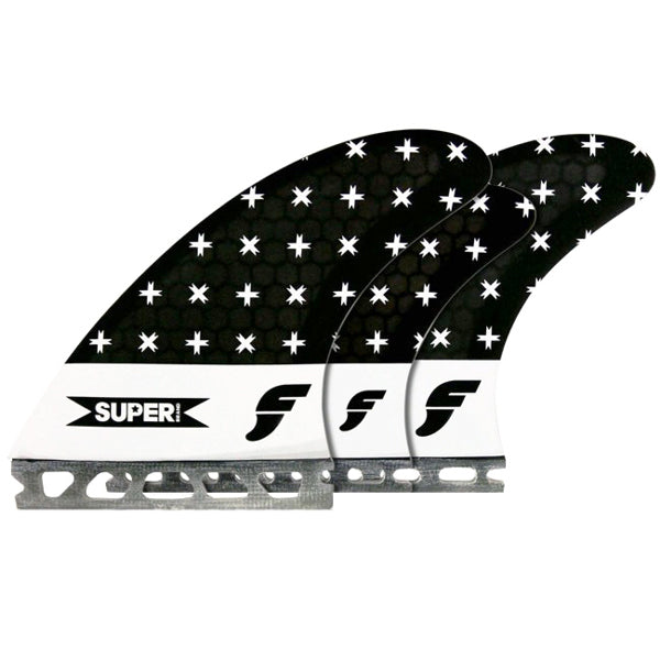 Futures SUPERbrand Honeycomb Tri/Quad Fin Set-Small
