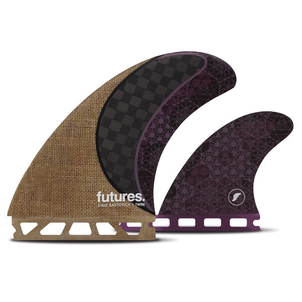 Futures Dave Rastovich Twin Fin Set