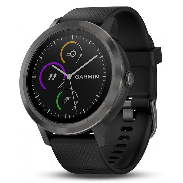 Garmin Vivoactive 3 Music GPS Watch-Black/Silver