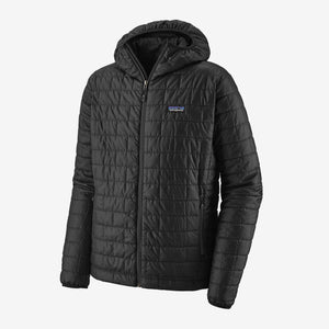 Patagonia Nano Puff Hooded Jacket-Black