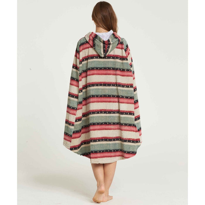 Billabong Hooded Poncho-Sugar Pine