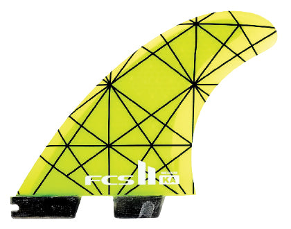 FCS II KA PC Tri Fin Set-Large