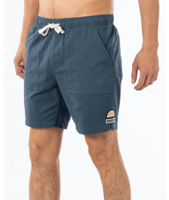 Rip Curl SWC Elastic Waist Shorts-Washed Navy