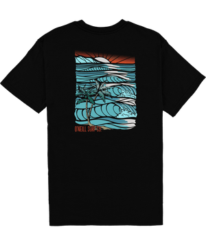 O'Neill Boys Set Trippin Tee-Black