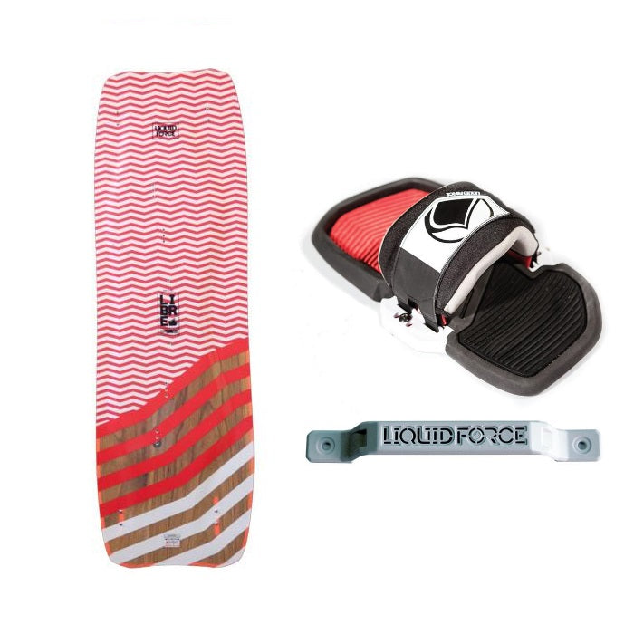 Liquid Force Libre 160cm Kiteboard With Phase Strap Kit