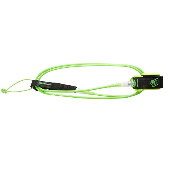"Creatures Comp Leash-6' x 1/4""-Lime/Clear"