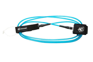 "Creatures Longboard Ankle Leash-9' x 9/32""-Blue/Black"