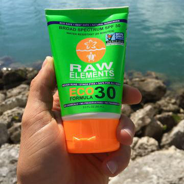 Raw Elements ECO Lotion Sunscreen-SPF 30