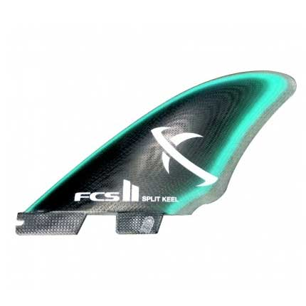 FCS II MB PG Split Keel Quad Fin Set-Medium