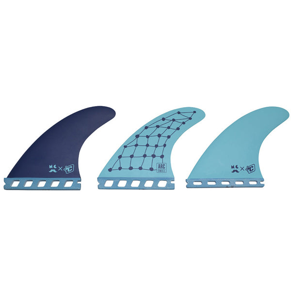 Creatures Mitch Arc Futures Tri Fin Set-Small-Powder Blue