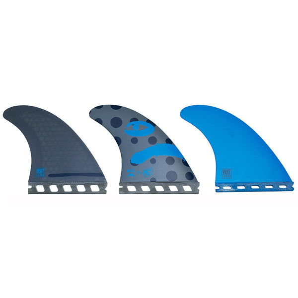 Creatures Mitch Vert Futures Tri Fin Set-Large-Charcoal