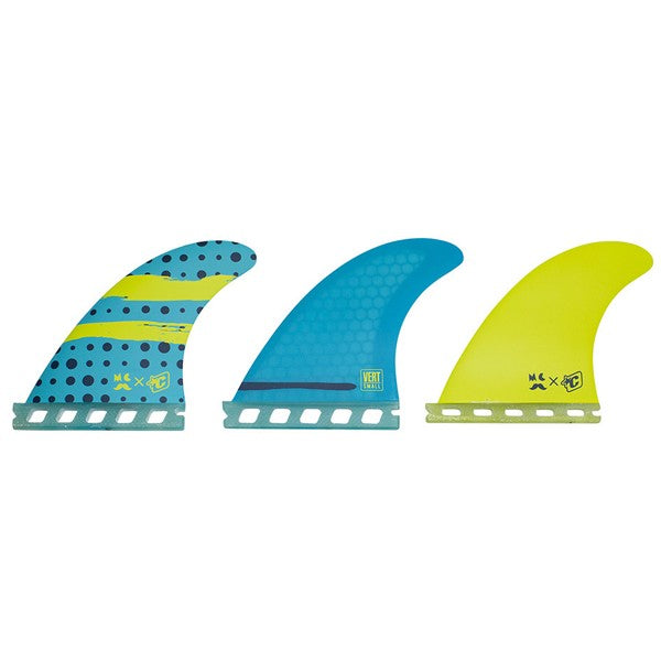 Creatures Mitch Vert Futures Tri Fin Set-Small-Sky Blue
