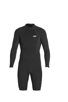 Xcel Comp X Neostretch 1/0.5mm BZ L/S Springsuit-Black