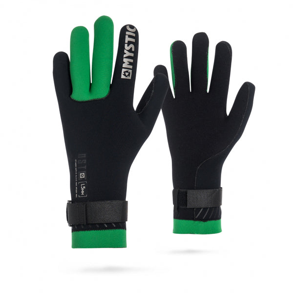 Mystic MSTC Merino Wool 1.5mm Gloves-Black