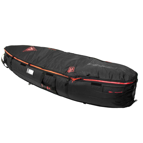 Creatures Shortboard Multi Tour Bag-Black/Red-6'7""