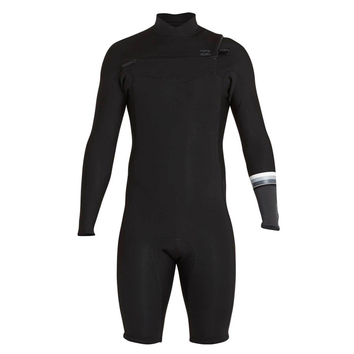 Billabong 202 Revolution Dbah CZ L/S Springsuit-Black
