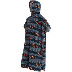 Billabong Hooded Poncho-Navy