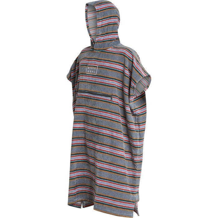 Billabong Hooded Poncho-Slate Blue