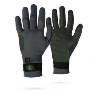 Mystic MSTC Pre Curved 3mm Gloves-Black