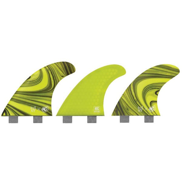 Creatures Nat Arc FCS Tri Fin Set-Forrest-Medium