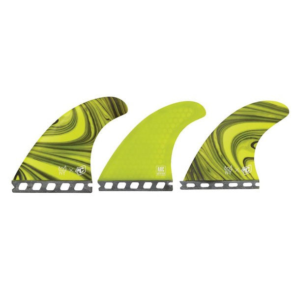 Creatures Nat Arc Futures Tri Fin Set-Forrest-Medium