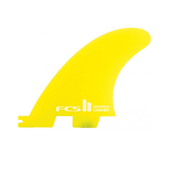 FCS II Carver Neo Glass Quad Rear/Side Fin Set-Small