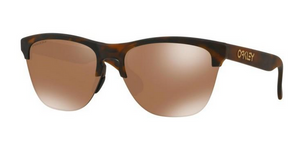 Oakley Frogskins Lite Sunglasses-Brown Tort/Prizm Tungsten